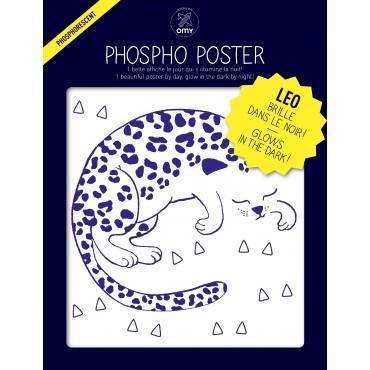 Poster Phosphorescent - Léo