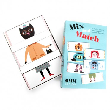 Jeu Mix & Match par Ingela P. Arrhenius
