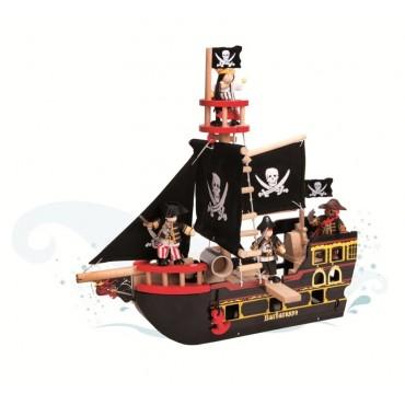 Bateau de pirate Barberousse