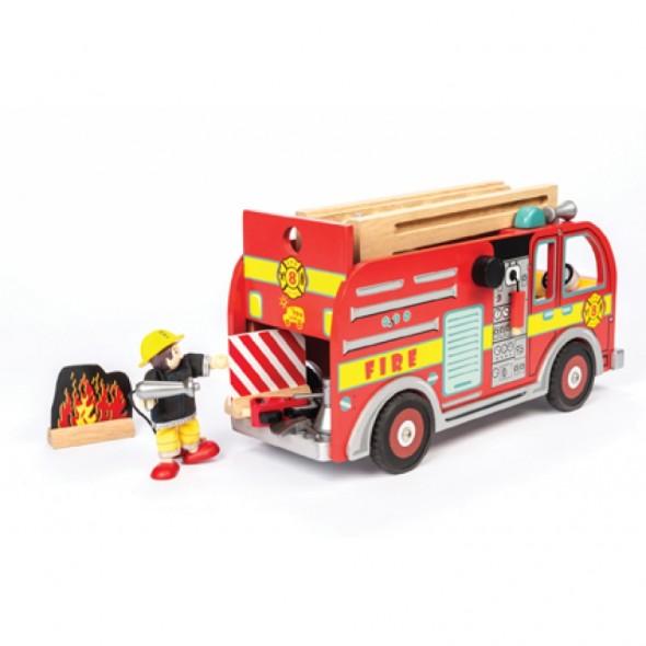 Camion de pompier (avec pompier fourni)