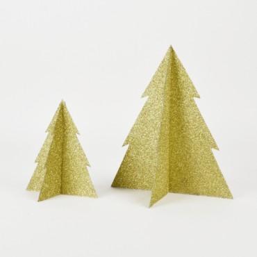 Sapin Glitter - Or