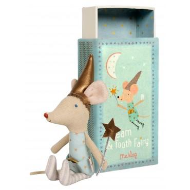 Petite souris fée des dents dans une boite (boy)