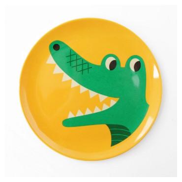 Assiette par Ingela P. Arrhenius - Crocodile