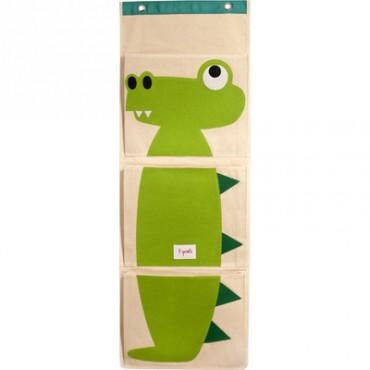 Vide-poche mural Crocodile