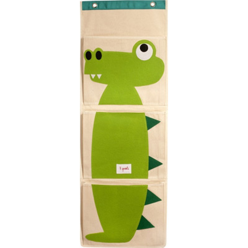 vide poche mural crocodile 3 sprouts perlin paon paon. Black Bedroom Furniture Sets. Home Design Ideas
