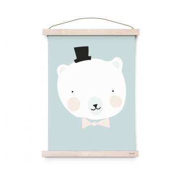 Affiche Lovely Animals - Mister Polar