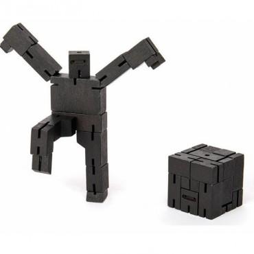 Petit Robot Cubebot par AREAWARE - Noir
