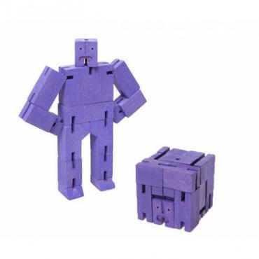 Petit Robot Cubebot par AREAWARE - Violet