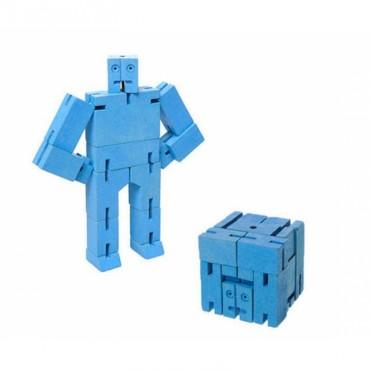Petit Robot Cubebot par AREAWARE - Bleu
