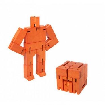 Petit Robot Cubebot par AREAWARE - Orange