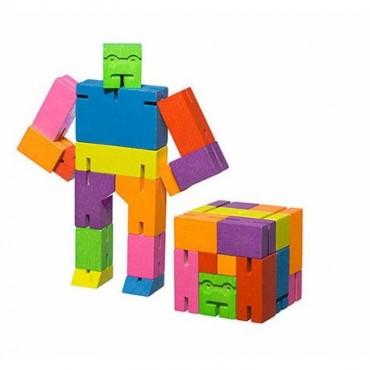 Petit Robot Cubebot par AREAWARE - Multicolore