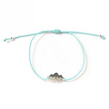 Bracelet Cloud en argent - Mint