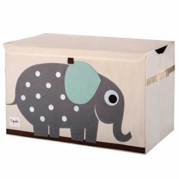 Coffre à jouets Elephant