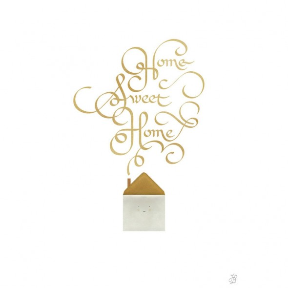 Affiche Home Sweet Home