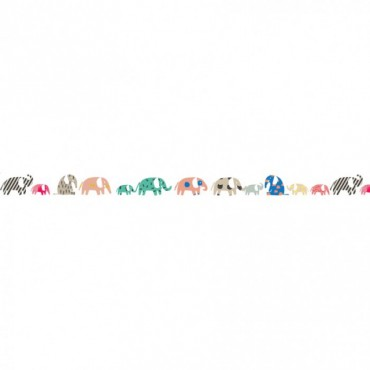 Frise Eléphants
