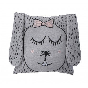 Coussin Little Ms Rabbit