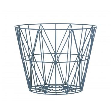 Panier de rangement Wire Basket - Petrol (S)