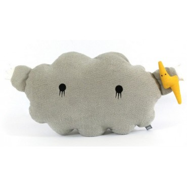 Coussin-Peluche Cloud (Grey)