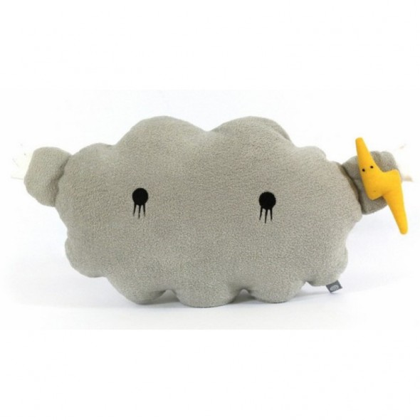 Coussin-Peluche Cloud (Grey)