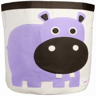 Bac à jouet Hippopotame
