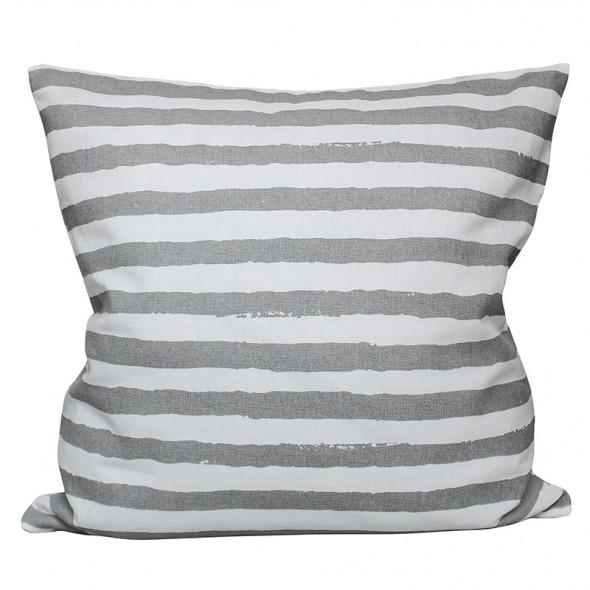 Housse de coussin - Stripes, Grey