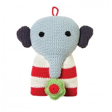 """Peluche musicale """"Bastian"""" l'éléphant"""
