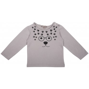 Tee-shirt Pattes - Grisou