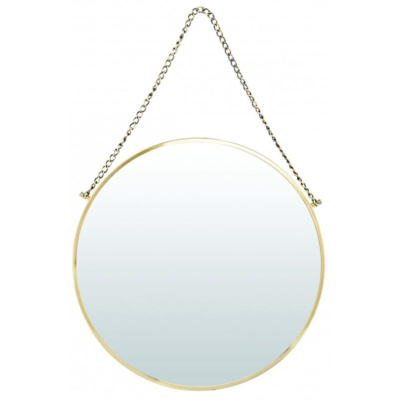 Miroir laiton miroir poisson en laiton honor dco with for Miroir hexagonal cuivre