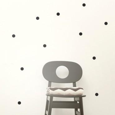 Sticker Mini Dots - Noir