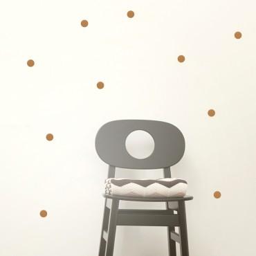 Sticker Mini Dots - Copper