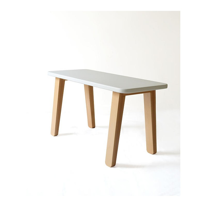 banc bureau blanc mum dad factory perlin paon paon. Black Bedroom Furniture Sets. Home Design Ideas