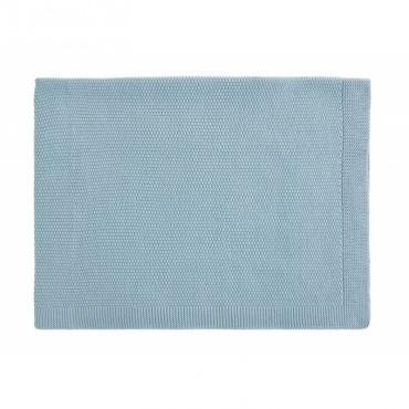 Couverture Bou - Bleu Hiver
