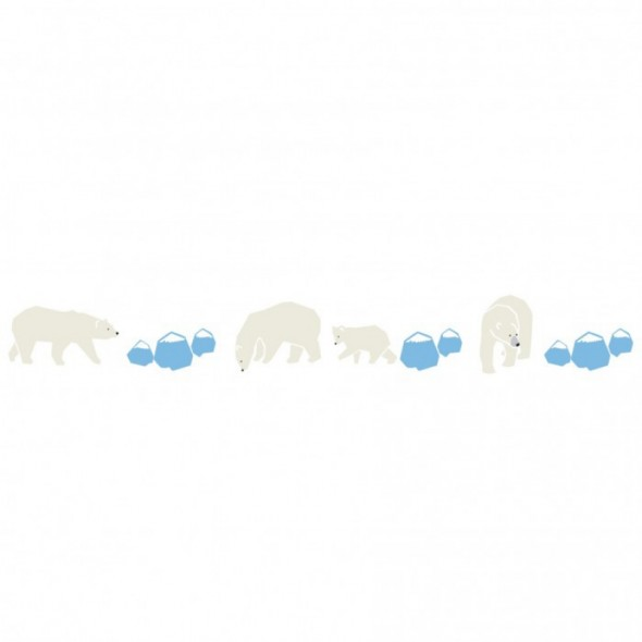 Frise Ours polaires