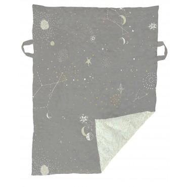 Tapis / couverture de jeu - Galaxy gris / Mint
