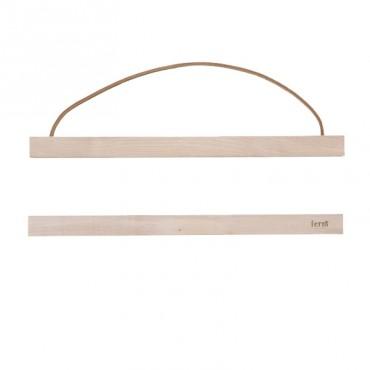 Cadre affiche en bois - Small