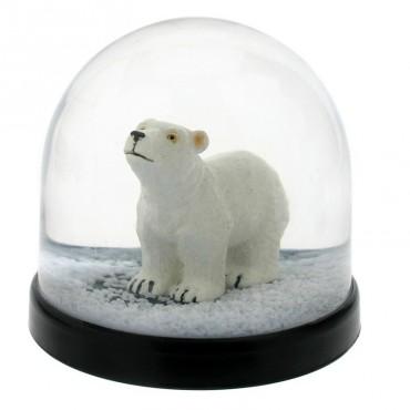 Boule à neige - Ours polaire