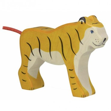 Animal en bois - Tigre