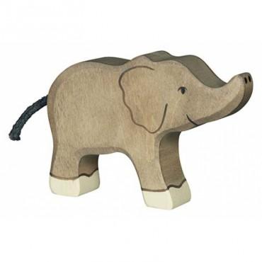 Animal en bois - Petit Eléphant