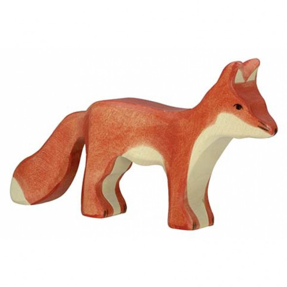 Animal en bois - Renard