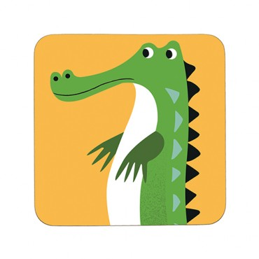 Sous-verre - Crocodile