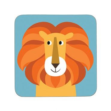 Sous-verre - Lion