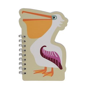 Carnet à spirales - Pelican