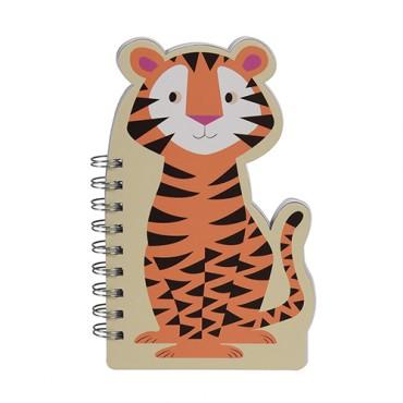 Carnet à spirales - Tigre