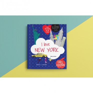 Livre Stickers - I love New York