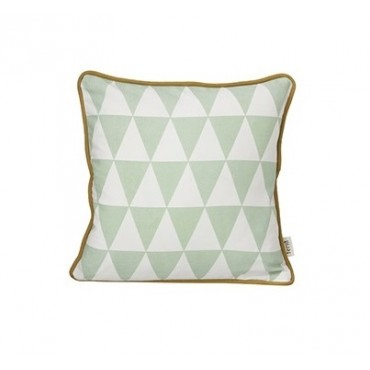 Coussin Little Geometry - Mint