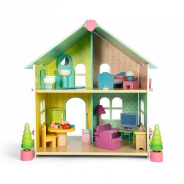 La petite maison aux tuiles vertes