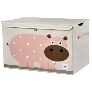 Coffre à jouets Hippopotame