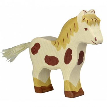 Animal en bois - Poney
