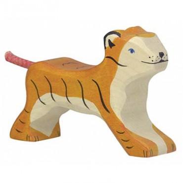 Animal en bois - Petit Tigre