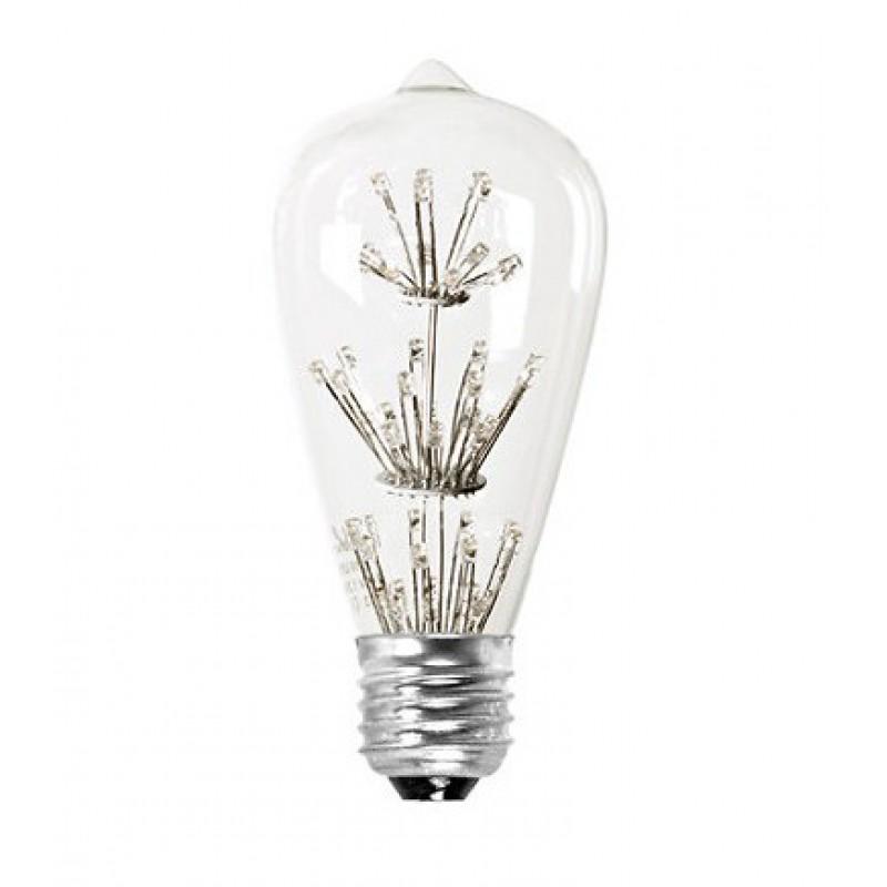 ampoule filament ogive led pop corn perlin paon paon. Black Bedroom Furniture Sets. Home Design Ideas